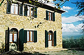 Old farmhouse in Montalcino