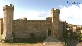 Montalcino - the fortress